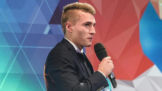 Michal Sadílek během Galavečera Grassroots za rok 2017.