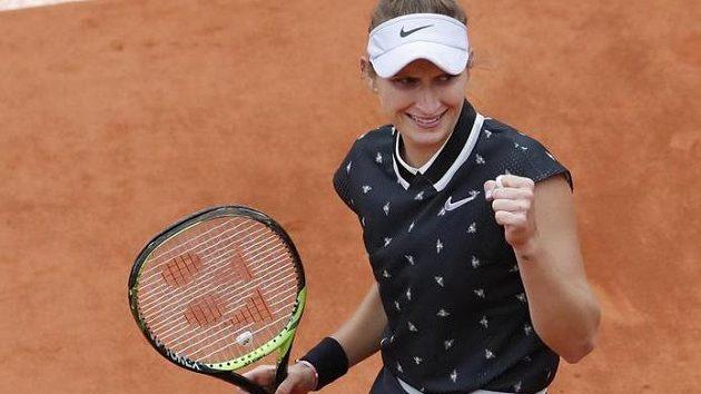 Markéta Vondroušová bude hrát v Paříži o titul.