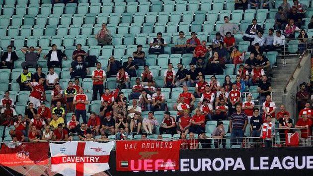 Finále Evropské ligy v Baku se stalo terčem kritiky