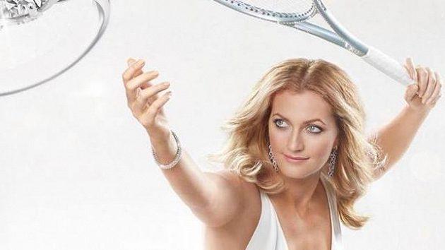 Petra Kvitová v reklamní kampani.