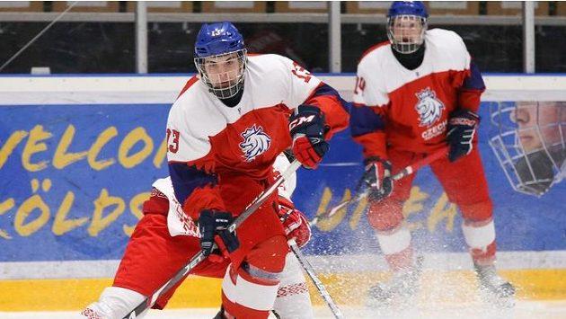 Čeští hokejisté do osmnácti let bojují na mistrovství světa ve Švédsku