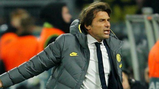 Antonio Conte utkání vždy prožívá velmi emotivně.