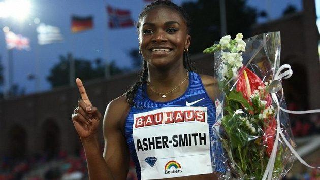 Dina Asherová-Smithová předvedla parádní výkon