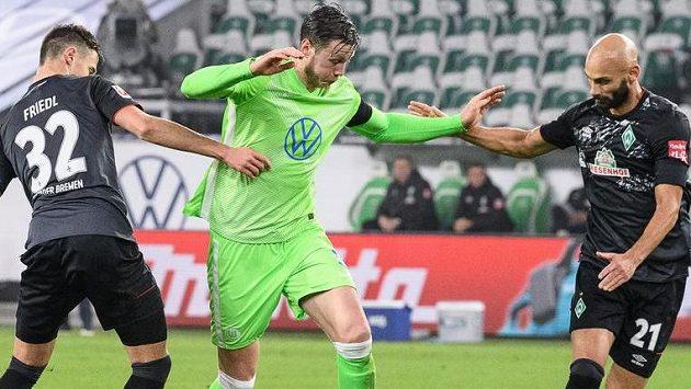 Brémy proti Wolfsburgu vyhořely v obraně