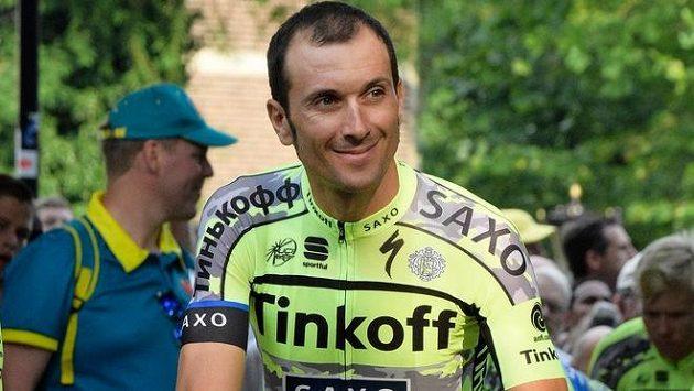 Ivan Basso při letošní Tour de France.