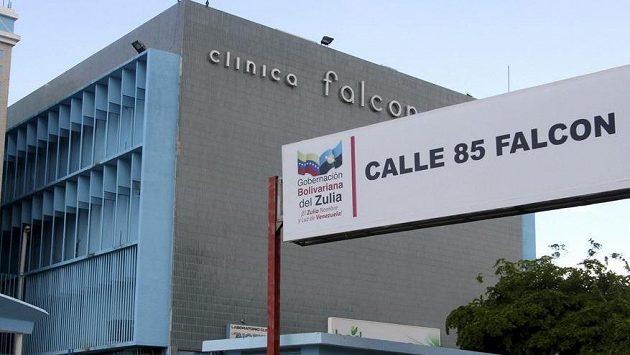Nemocnice ve venezuelském městě Maracaibo, kde podstoupil Diego Maradona operaci.