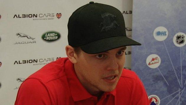 Český hokejista Andrej Nestrašil.