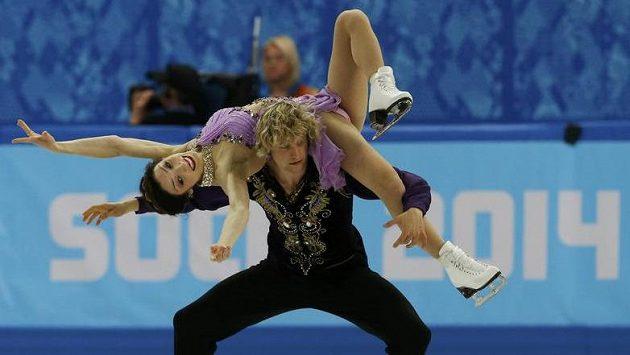Američané Meryl Davisová a Charlie White získali olympijské zlato v tancích na ledě.