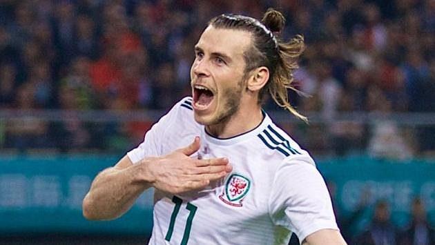Velšský fotbalista Gareth Bale.
