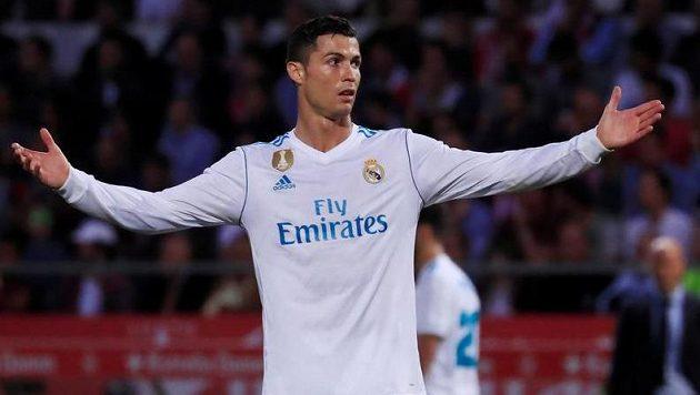 Rozčarovaný Cristiano Ronaldo.