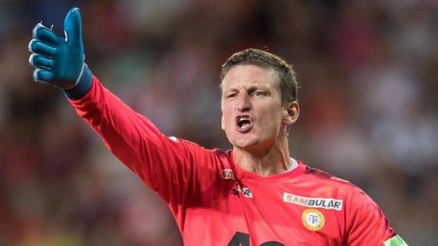Brankář Teplic Tomáš Grigar prodloužil s klubem smlouvu