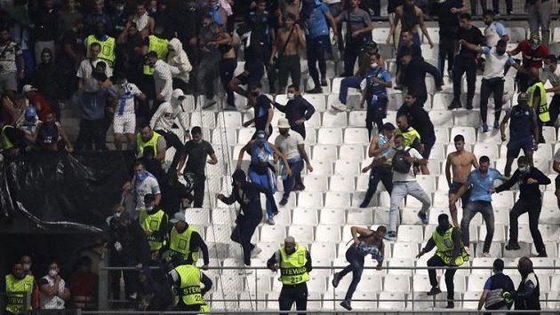 Další vlna výtržností při fotbale ve Francii