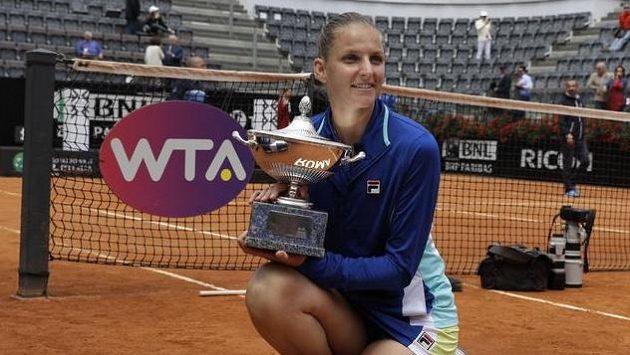 Karolína Plíšková ovládla turnaj v Římě
