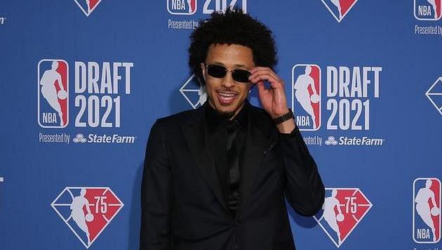 Cade Cunningham, jednička draftu basketbalové NBA.
