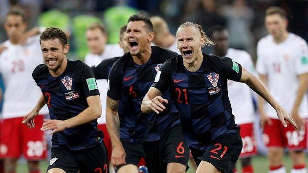 Euforie Chorvatů, smutek Dánů...