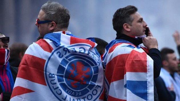Fanoušci Glasgow Rangers (ilustrační foto)