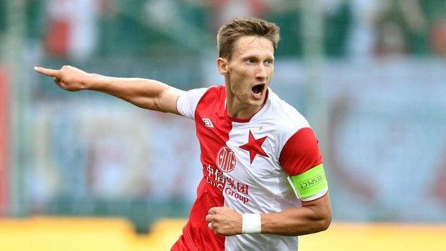 Milan Škoda jásá, slávisté jeho zásluhou šli v Boleslavi do vedení.