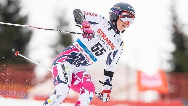 Bolest! Kateřina Pauláthová nedokončila obří slalom ve Špindlerově Mlýně.