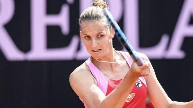 Sestřih zápasu Karolína Plíšková - Jekatěrina Alexandrovová
