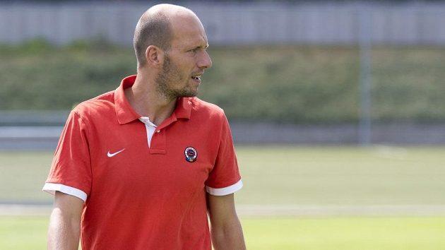 Petr Havlíček, trenér druholigové Vlašimi. Na archivním snímku ještě z doby působení ve Spartě.