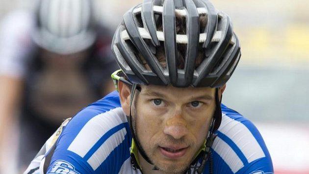 Český cyklista Leopold König na snímku z Tour de France.