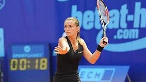 Iveta Benešová na Prague Open