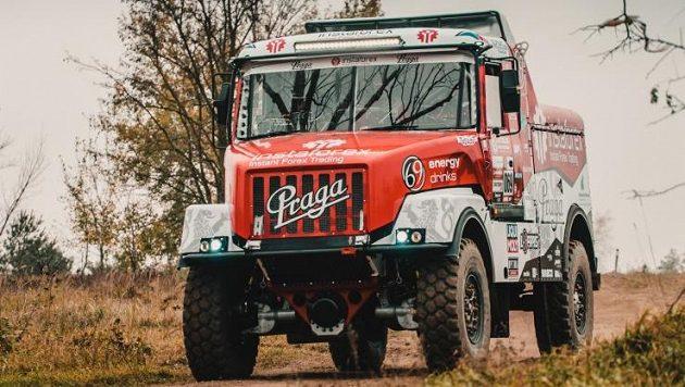 Aleš Loprais se chystá na Rallye Dakar, ilustrační foto.