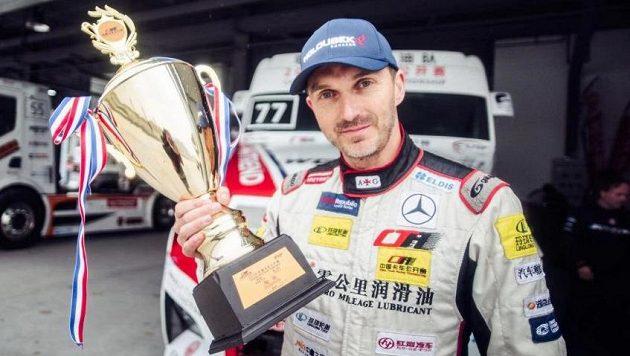 David Vršecký je po třetí v řadě čínským šampionem.