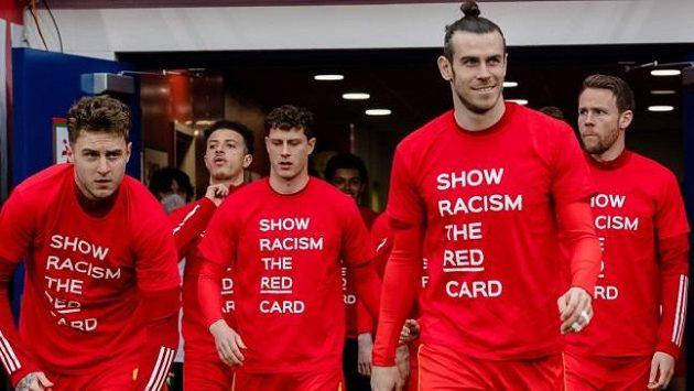 Fotbalisté Walesu - ilustrační foto.
