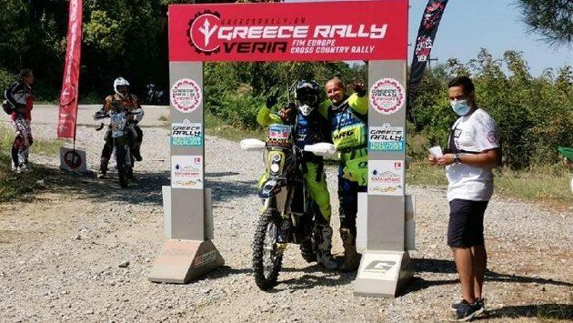 Libor Podmol je po prologu Řecké rallye na desátém místě.