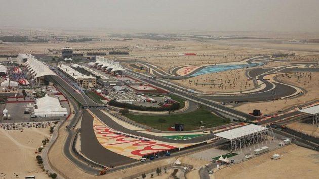 Okruh v bahrajnském Sáchiru.