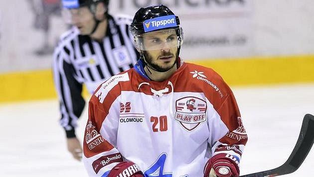 Střelec druhého gólu Olomouce František Skladaný.