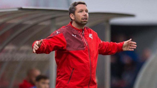 Plzeňský asistent trenéra Pavel Horváth.