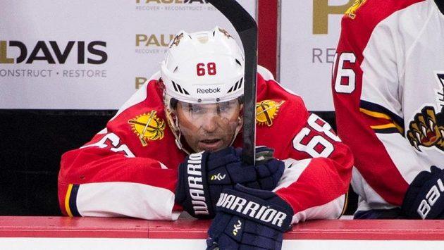 Jaromír Jágr sice střílí góly, ale jeho Florida v NHL potřetí v řadě prohrála.