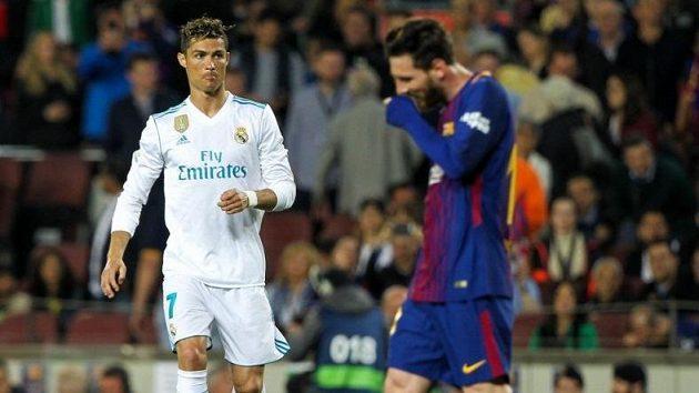 Jak jsou na tom s cenou na trhu Cristiano Ronaldo a Lionel Messi?