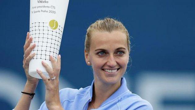 Petra Kvitová odehrála vítězný turnaj pod prášky. Objevily se trable s rukou