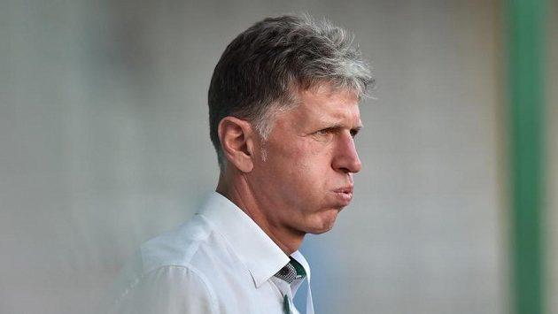 Trenér Jablonce Jaroslav Šilhavý.
