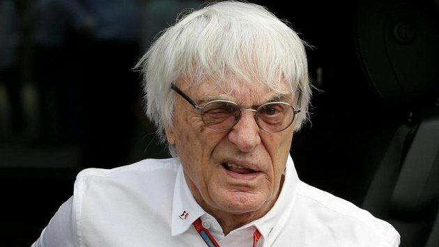 Šéf F1 Bernie Ecclestone.