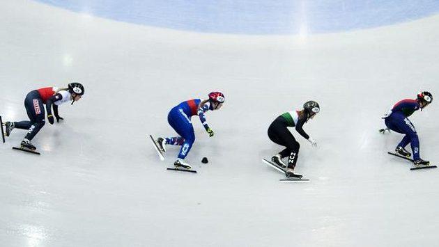 Olympijskou vítězku v rychlobruslení na krátké dráze Sim Sok-hi údajně napadl jeden z trenérů korejské reprezentace (ilustrační foto).