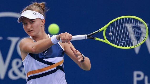 Barbora Krejčíková se chystá na US Open