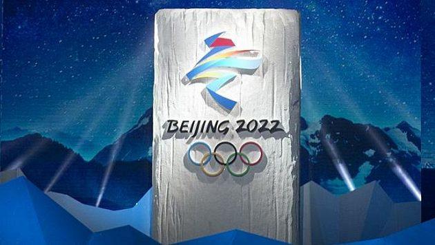 Oficiální logo zimních olympijských her 2022 v Pekingu.