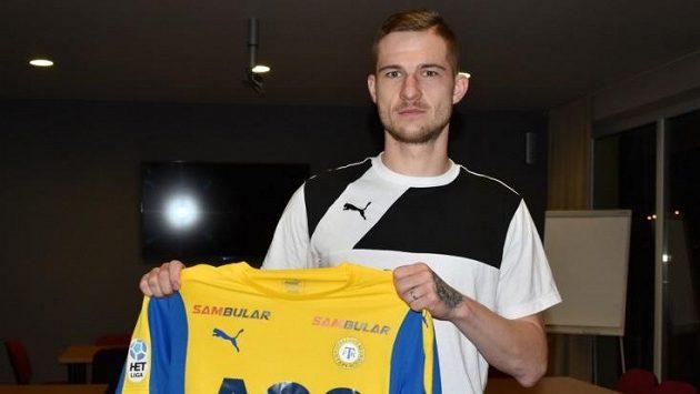 Fotbalista Teplic Pavel Čmovš,