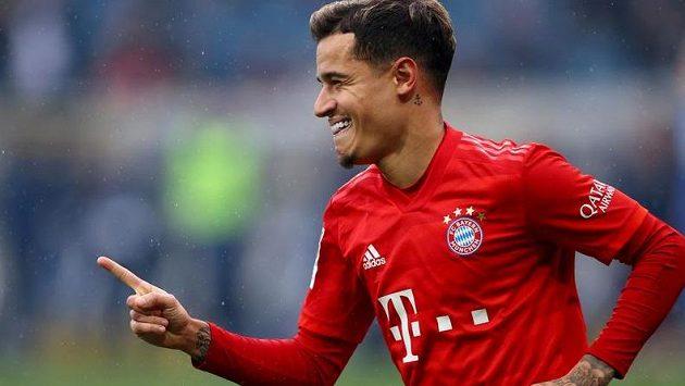 Brazilský záložník Philippe Coutinho po ročním hostování v Bayernu Mnichov nejspíš skončí