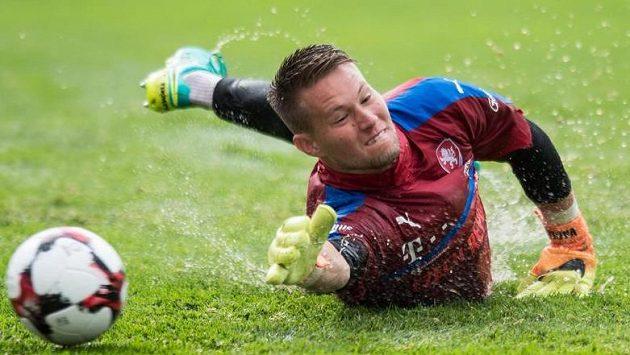 Brankář české fotbalové reprezentace Tomáš Vaclík slaví pohárový úspěch v dresu Basileje.