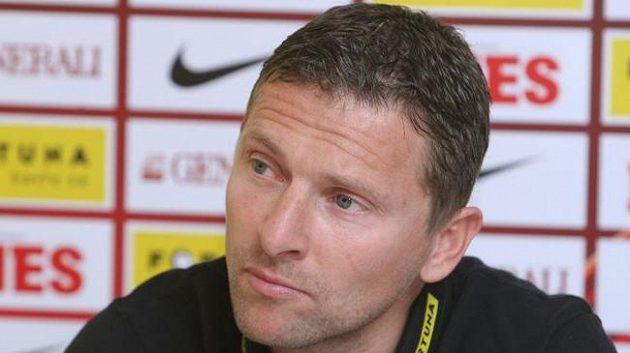 Martin Hašek, bývalý první kouč fotbalové Sparty.
