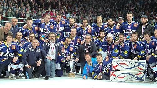 Hokejisté Vítkovic po letošním finále extraligy