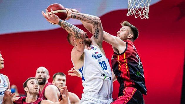 Čeští basketbalisté podlehli rozdílem jednoho bodu (archivní foto)