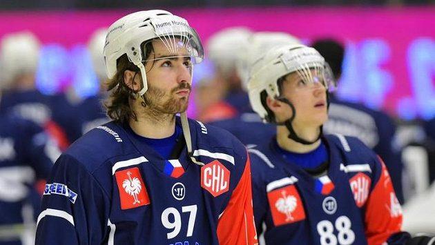 Smutní hráči Plzně Lukáš Kaňák (vlevo) a Petr Kodýtek po prohraném utkání s Frölundou.