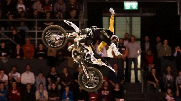 Freestyle motokrosař Libor Podmol .