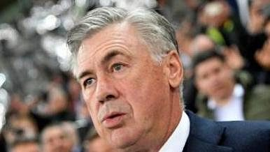 Trenér fotbalistů Evertonu Carlo Ancelotti.
